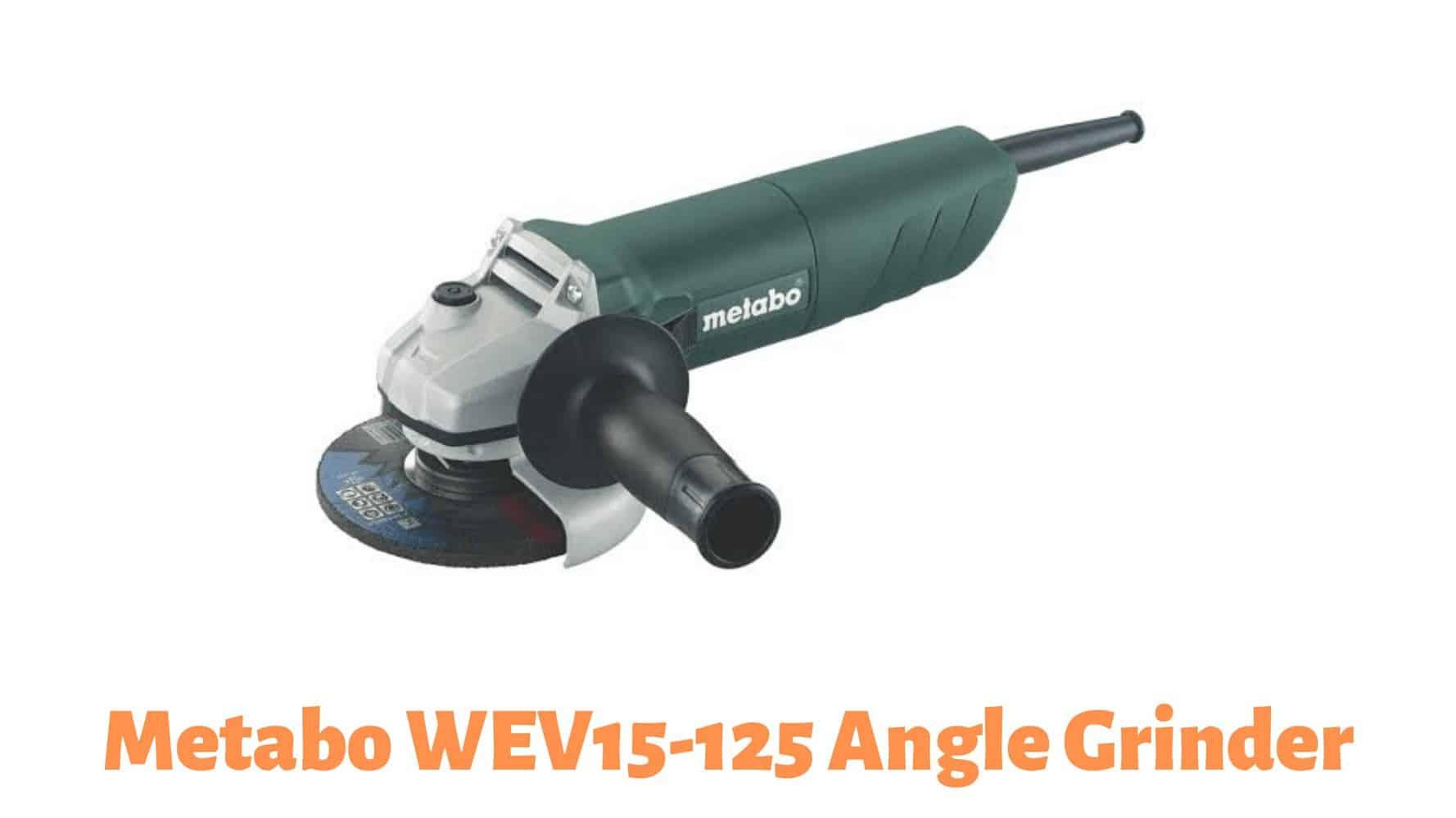 Metabo WEV15-125 Angle Grinder