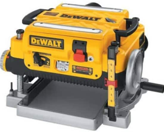 DEWALT Thickness Planer, Two Speed