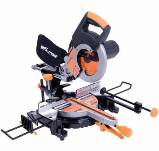 Evolution RAGE3 Miter saw.